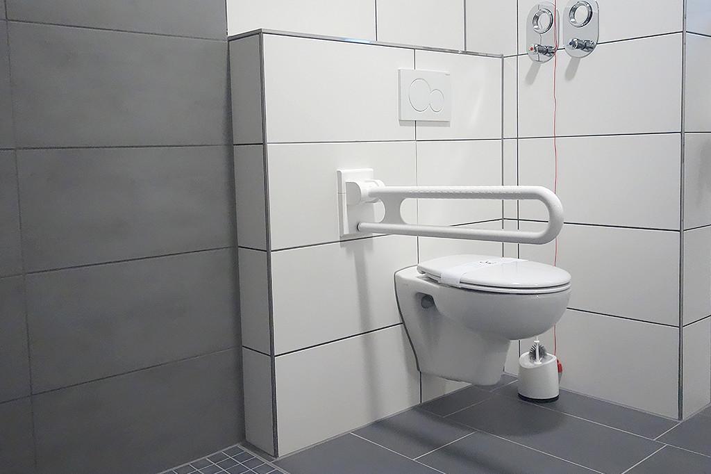 Haltegriff am WC